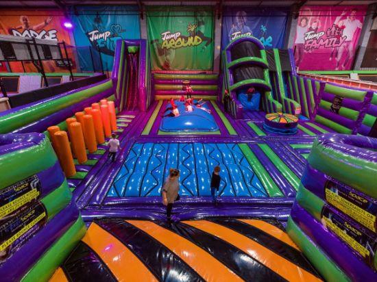 Big Hot Sale Inflatable Indoor Outdoor Trampoline Park Amusement Park