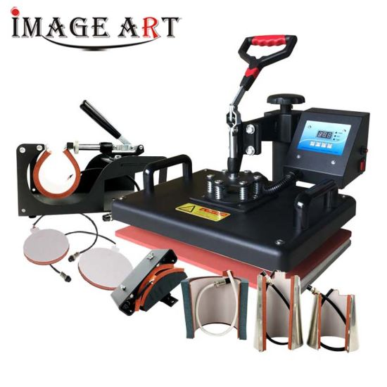 8in1 Multifunctional Combo Heat Transfer Heat Press Machine for Sublimation Printing