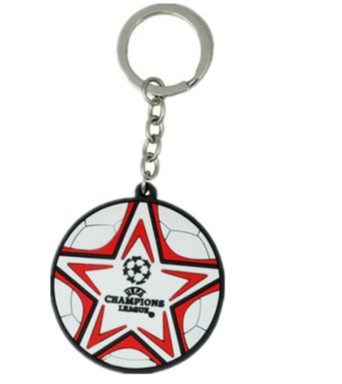 Promotion Custom Printed Metal Keychain with Epoxy Logo