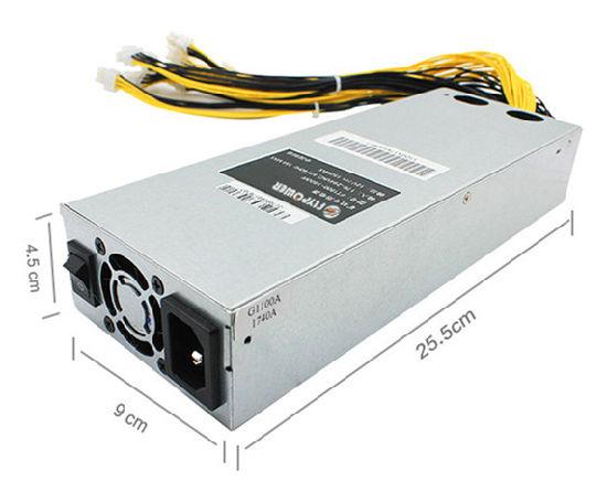 1800W Mining Power APW3+ PSU Supply For BTC Miner RIG Mining Machine S9 S7 HOT!