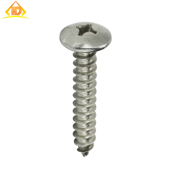 DIN7981 Cross Recessed Pan Head Self Tapping Screws pictures & photos