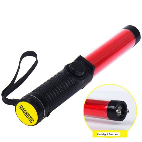 Rechargeble LED Police Traffic Wands Road Safety Traffic Wands