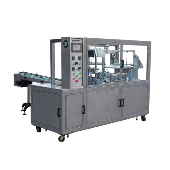 Automatic Transparent Film Paper Pharmacy Healthy Products Osmeticsfood Packaging Machine pictures & photos