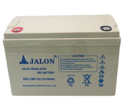 12V100ah Gel Valve Regulaed Lead Acid Solar Power Battery for Energy System
