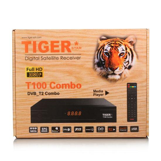 Tiger T100 Combo DVB S2 & DVB T2 Digital Satellite Receiver