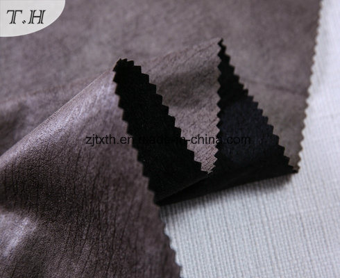 Burnout and Hot Stamping Suede Sofa Fabric pictures & photos