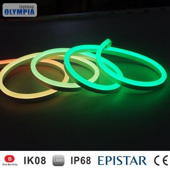 Ip68 Waterproof Swimming Pool Neon Led Strip Light