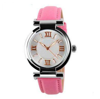 Alloy Case Genuine Leather Gender Japan Movement Wholesale Vogue Suedue Watch (DC-1036)