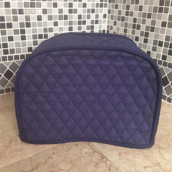 Kitchen Storage Small Liance Covers China Navy Blue 2 Slice Toaster Cover Quilted Fabric Dust