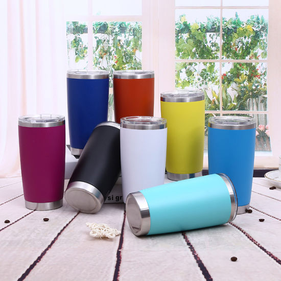 China Powder Coating 10 Colors Yeti Cup Rambler Tumbler Price 20oz pictures & photos
