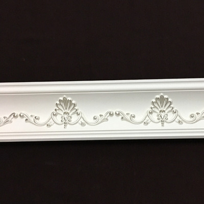 Home Decoration Polyurethane Foam Crown Molding/ PU Cornice Moulding pictures & photos