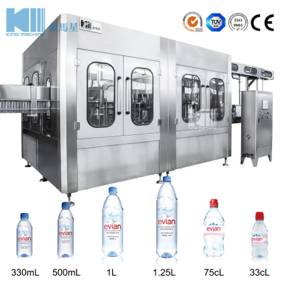 High Quality Spring Bottled Water Filling Machine