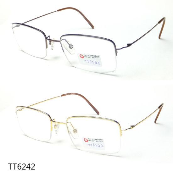 Design Optics Reading Glasses Titanium Optical Frame TT 6242