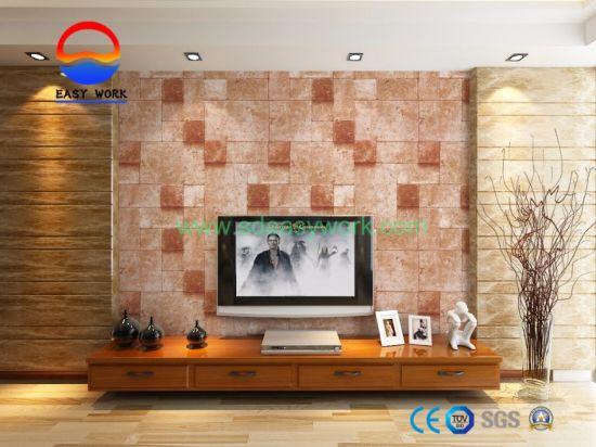 China Home Decorative 3d Brick Wallpaper China Wallpaper 3d Wallpaper
