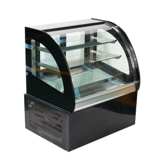 Rugged Refrigerated Cake Refrigerator Bakery Display Case