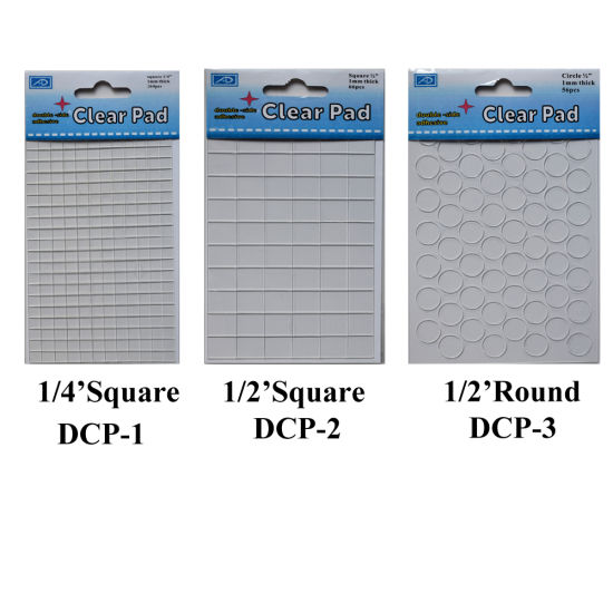 Double Sided Adhesive Glue Pad for Craft (DCP-2) pictures & photos