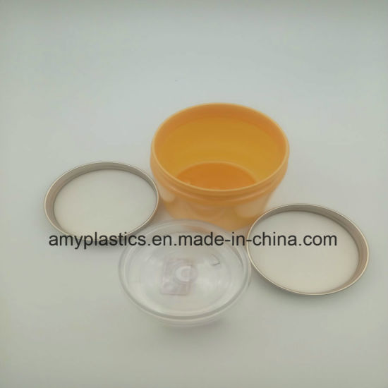 Cosmetic Jars Cream Jars Plastic Jars with Lid pictures & photos