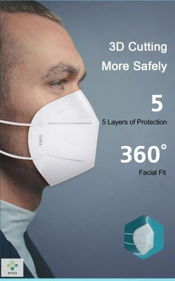 Factory Wholesale Protection Masks Disposable Melt-Blown 4 Ply Sanitary Masks