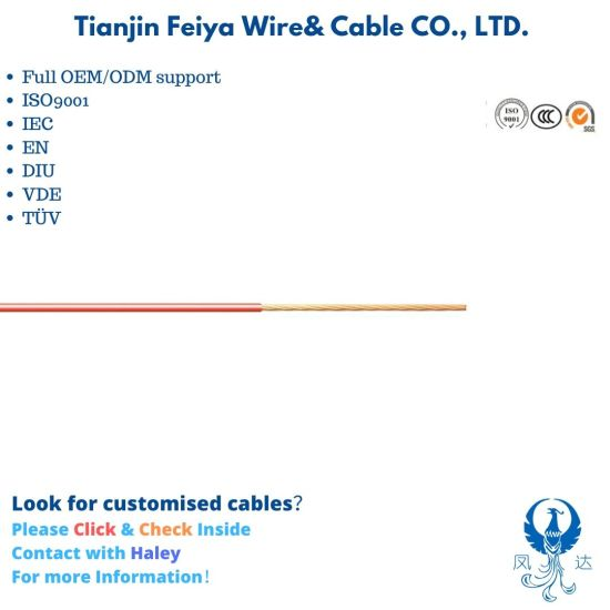 Flry-a/B Automotive Connector Wire Insulation Low Voltage Power Cable