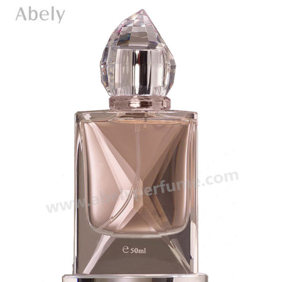 Glass Perfume Bottle Women Perfume with Crystal Decoration pictures & photos