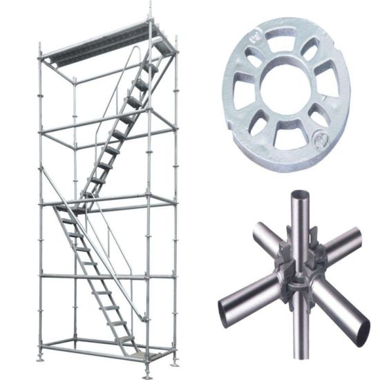 Manufacturer Ringlock System Scaffold for Construction of Layher Scaffolding System