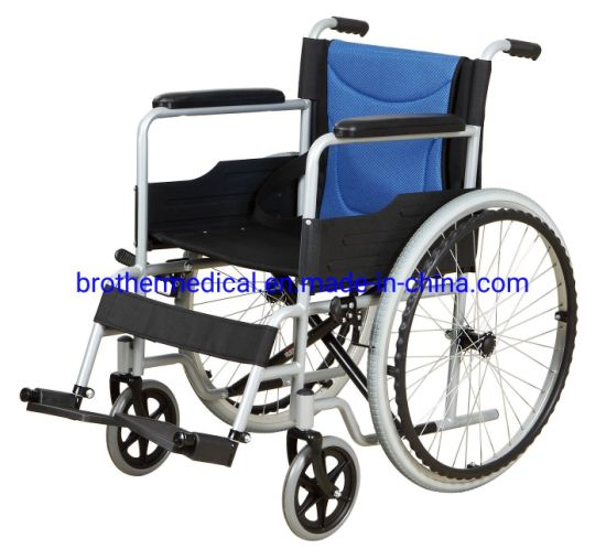 Factory Deliver The Most Popular Steel Manual Lightweight Wheelchair
