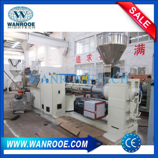Recycling Film Crushed PP PE Scrap Plastic Granulation Pelletizing Machine pictures & photos