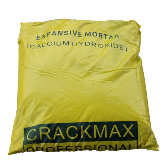 Crackmax Cracking Soundless Expansive Agent Powder/Mortar/Chemical for Quarry Stone Cracking/Splitting