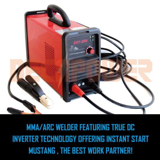 Zx7-180A IGBT Arc Stick Welder Basic Electrode MMA Welding Machine