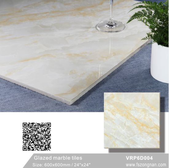 China Red Building Material Full Polished Glazed Porcelain Floor