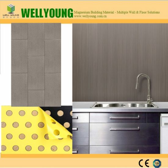 Fire Resistance Self Adhesive Vinyl Wall Covering Tiles