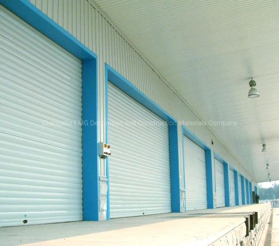Automatic Aluminum Thermal Insulated Electric Overhead Vertical Roll up or Roller Shutter Coiling Rolling Garage Door for Warehouse