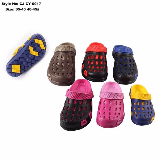 Lightweight EVA Injection Casual Clogs Shoes for Kids