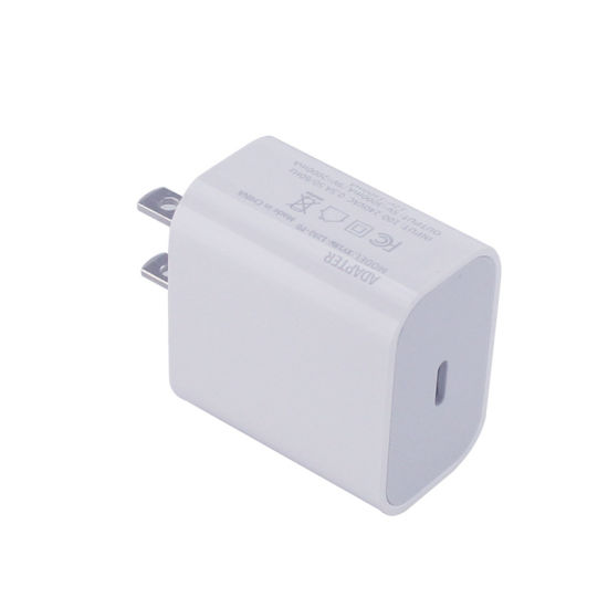 18W USB-C Power Adapter Type C Wall Charger for iPhone12/11/PRO/Max/Xs/Max/Xr/X/8plus