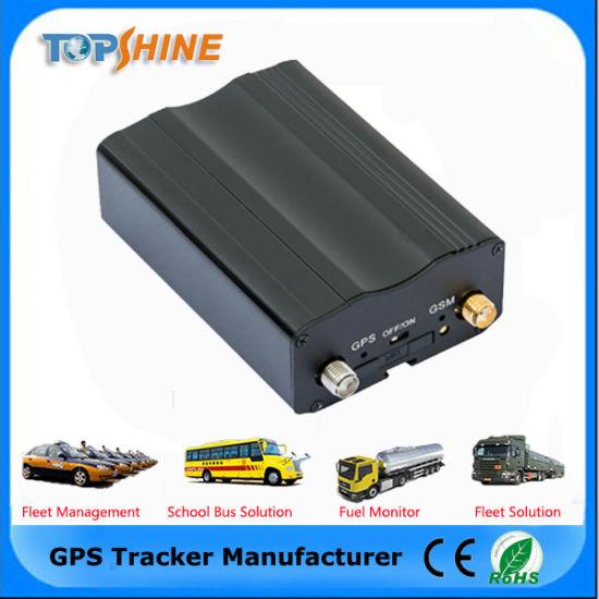 Bluetooth Car Alarm Vehicle GPS Tracker with Anti GSM Jamming