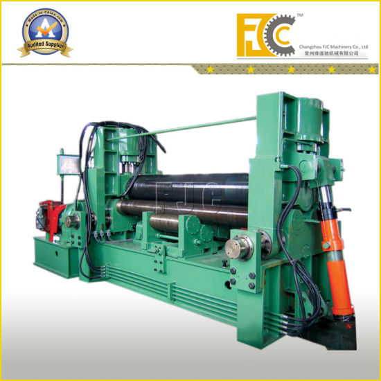 All-Purpose Three Rollers Hydraulic Sheet Bending Machine pictures & photos