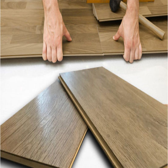 Wear Proof Poly Vinyl Chloride Wooden Veins Plastic Flooring