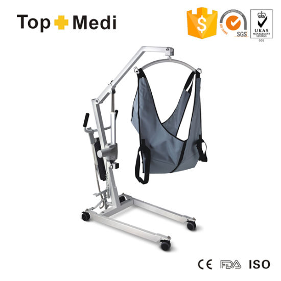 Topmedi Medical Equipment Electric Patient Transfer Lift pictures & photos