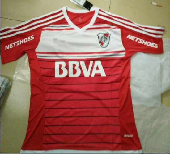 2016 River Plate Football Tshirts Home and Wawy