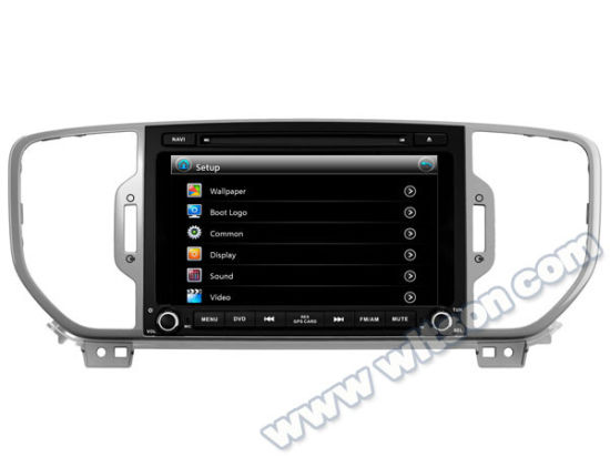 Witson Car DVD Player with GPS for KIA Sportage R2016 (W2-D6580) pictures & photos