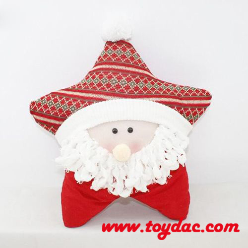 Plush Christmas Santa Cushions pictures & photos