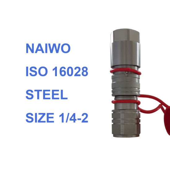1/2 Flat Face Hydraulic Quick Release Coupling Couplers ISO16028
