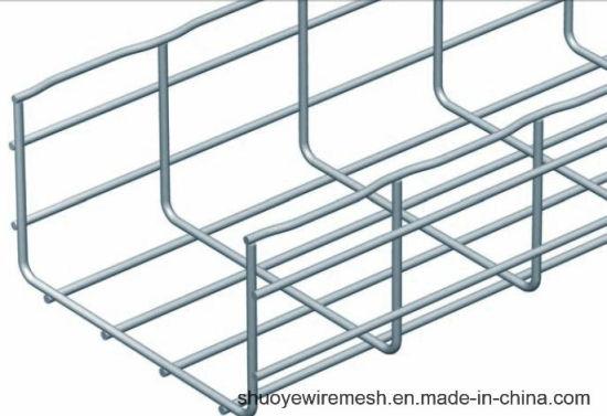 China Cablofil Wire Mesh Cable Tray Grid Bridge - China Galvanized ...