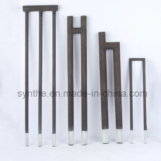 U Type Silicon Carbide Heating Element for High Temperature Box Furnace & Ovens