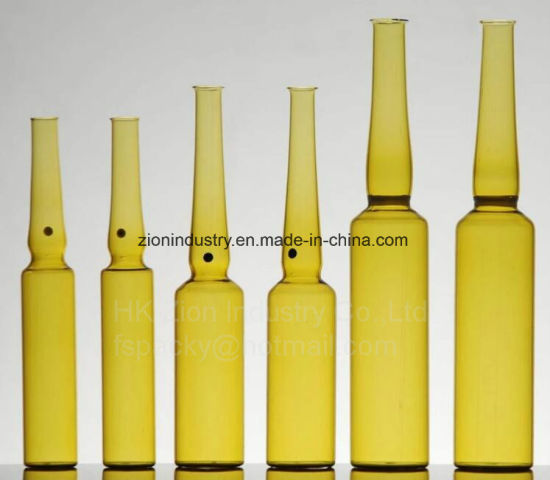 Pharmaceutical Packaging Upc Type I Borosilicate Glass Ampoules pictures & photos