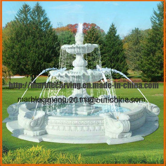 2 Tier Stone Water Fountains Outdoor