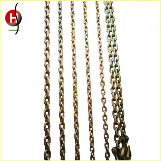 Best Quality Durable Color Glav Alloy Steel Chain for Chain Block pictures & photos