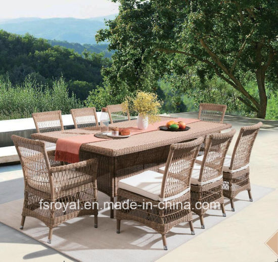 Garden Patio Furniture Outdoor Rattan Furniture Hotel Restaurant Chair Dining Furniture Set pictures & photos