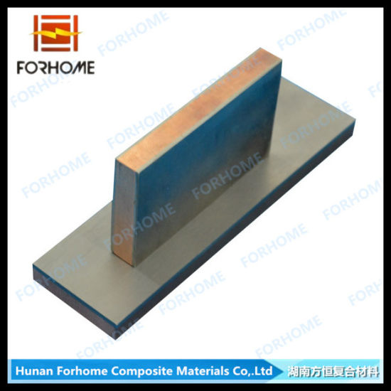 Titanium Copper Titanium Clad Metal Plates\Cladding Sheets\Bimetallic Stripe pictures & photos