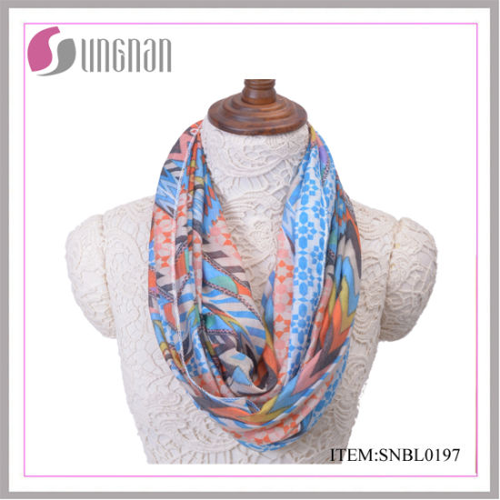 Ethical and Vintage Fresh Ladies Cotton Infinity Scarf